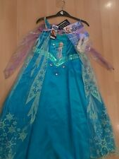 BNWT Disney Frozen Elsa fancy dress outfit costume 5-6 yrs girls Xmas gift