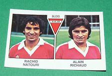 N°464 NATOURI - RICHAUD BLOIS D2 PANINI FOOTBALL 79 1978-1979