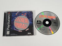 Extreme Pinball (Sony PlayStation 1, 1996 PS1) - Complete w/ Manual, Tested