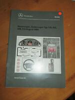 Mercedes Service  Neuerungen Aug.1997 - R 129 - W 202 -208 -210