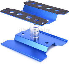 Rc Car Stand Repair Workstation Aluminum Alloy 360 Degree Rotate Holder Blue Us