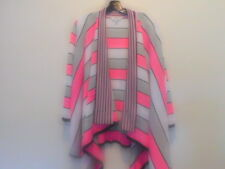 NEW MISOOK LARGE JOANNE CARDIGAN TICKLED PINK