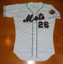 NEW YORK METS BILL TAYLOR RARE 1999 GAME USED WORN JERSEY (A's ATHLETICS RAYS)