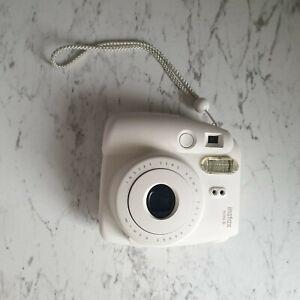 Fujifilm Instax mini 8 White Polaroid Camera