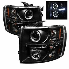 Spyder 5009494 PRO-YD-CS07-HL-BK Projector Headlights Halo LED Blk