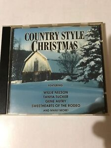 COUNTRY STYLE CHRISTMAS CD Willie Nelson Tanya Tucker Many More