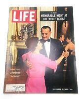 Life Magazine December 3 1965 President Johnson Pucci Vietnam Muhammad Ali