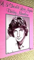 BARRY MANILOW: IF I SHOULD LOVE AGAIN (SHEET MUSIC)