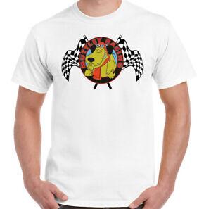 Wacky Races T-Shirt Mutley Racing Mens Funny Dastardly 60s 70s Cartoon Show Top