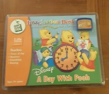 NEW Leap Frog Imagination Desk A day with pooh book and cartridge