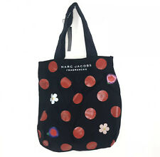 MARC JACOBS Black Red Polka Dot Tote Bag NEW