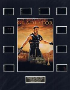 Gladiator (2000) Authentic 35mm Movie Film Cell 8x10 Matted Display - w/COA