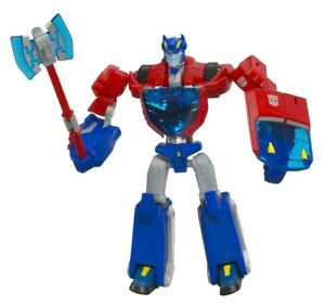 Transformers Animated OPTIMUS PRIME Complete cybertronian Deluxe Figure