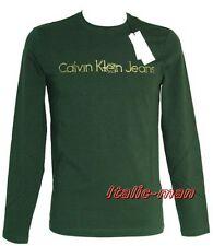 T-shirt m/l CALVIN KLEIN - mod. CMP39J - tg. L - verde scuro