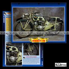 #110.12 Fiche Moto MOTOCONFORT 125 U 46C 1947 Classic Motorcycle Card