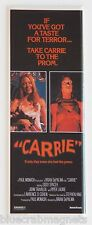 Carrie FRIDGE MAGNET (1.5 x 4.5 inches) insert movie poster stephen king