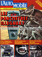 L'AUTOMOBILE N°345 OPEL REKORD PEUGEOT 203 DE HONDA CB 125 S YAMAHA DT 125 1975