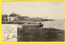cpa 44 - LE CROISIC (Loire Atlantique) Panorama des QUAIS Port Pêcheur Carrelet
