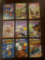SPACE USAGI * Vol 1 (1992) 2 (1993) 3 (1996)  Mirage Dark Horse  *Lot of 9 *