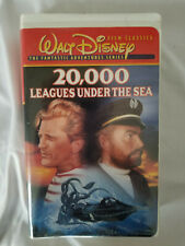 20,000 Leagues Under the Sea (VHS, 1997 Fantastic Adventure Series) Disney movie
