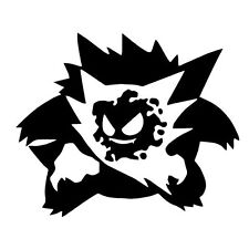 Decal Vinyl Truck Car Sticker - Pokemon Go Gengar Evolution