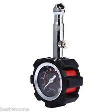 Car LCD PSI KPA BAR Digital Tire Pressure Gauge Manometer Tester Black