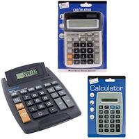 Just Stationery Calculator 8 Digit Display Screen Assorted Large Medium Small