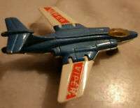 Matchbox Aircraft 1981 No: 2 S.2 JET FIGHTER Plane w/ Folding WINGS VIPER Livery