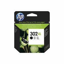 New Genuine HP 302XL Black Ink Cartridge for Deskjet 1110 2130 3630 F6U68AE