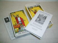 The Rider 78 Card Tarot Deck and Booklet US Game System, Arthur Edward Waite