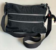 KIPLING ALVAR CROSSBODY SLING SHOULDER BAG PURSE IN BLACK SALE