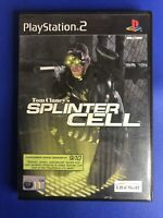 Tom Clancy's Splinter Cell (Sony PlayStation 2, 2003) with Manual PS2 Video Game