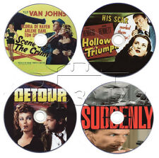 Film-Noir Movie DVD Collection: Detour, Hollow Triumph, Suddenly, Scene Of The..