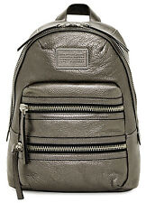 Marc by Marc Jacobs Domo Biker Metallic Leather Backpack New With Tag $528
