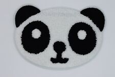Chenille Patch: Panda Face