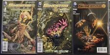 DC Comics Sinestro 1 2 3 9 13 14 15 16 17 17 18 19 20 NM several Variant covers