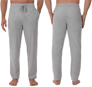 Fruit of the Loom Men's 60% Cotton Jersey Sleep Pant with Pockets,6X Plus,Grey