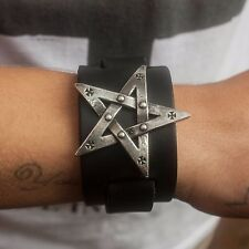 GENUINE Alchemy Gothic Bracelet - Pentagration | Men's Fashion Wrist Strap