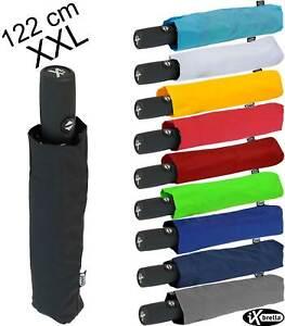 iX-brella Regenschirm XXL Trekking Taschenschirm Auf-Zu-Automatik 122cm groß