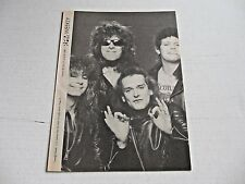 punk band TEENAGE HEAD on cover RPM WEEKLY magazine June 25 1983 rare