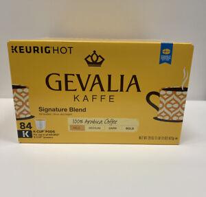 Gevalia Signature Blend Coffee K-Cups For Keurig 84 Count