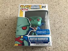 Justice League Martian Manhunter Funko Pop! Walmart Exclusive!