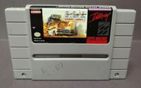Radical Psycho Machine Racing  - Super Nintendo SNES Game Cart Rare Tested Works