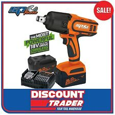 """SP Tools 18V 5.0Ah Lithium-Ion Cordless 3/4"""" Drive Impact Wrench Kit - SP81140"""