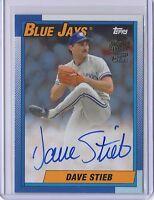 2017 Topps Archives Dave Stieb Blue Jays Fan Favorites Autographs / 75