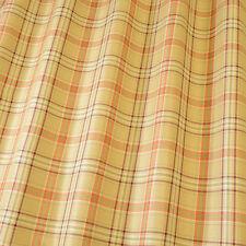 Cerato Burnt Orange - By iliv Tailored Check, Woven Fabric - 2.5 Metre Piece