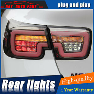 LED Rear Lights Assembly For Chevrolet Malibu 2013-2015 Dark / Red LED Tail Lamp
