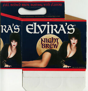 ELVIRA'S NIGHT BREW six-pack box