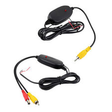 12V 2.4G Wireless Transmitter Receiver for Car Reverse Rear View Camera