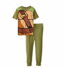 Teenage Mutant Ninja Turtles Boy's Costume Cotton Pajama Set, Size 10